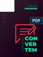 Micha Menezes - Ebook - 8 Criativos Que Convertem