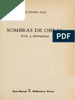 Paz Octavio - Sombras De Obras
