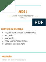 1 - AEDS 1 AULA 1 - APRESENTAÇÃO DA DSICIPLINA.pdf