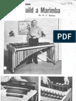 Marimba how 1956