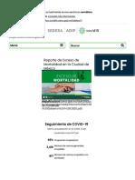 COVID-19 CDMX