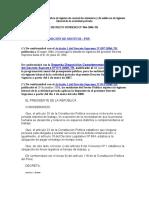 DECRETO SUPREMO Nº 004-2006-TR. Control de Asistencia y Salida de trabajadores