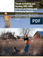 Trends in Fishing and Hunting 1991-2006