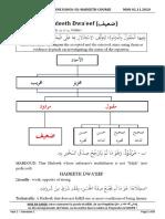 14 Hadeeth Dwa'eef