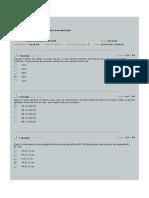 Avaliação matematica financeira av1