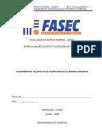 FUNDAMENTOS FILOSÓFICOS E PEDAGÓGICOS DO ENSINO SUPERIOR . FASEC . DAMAS . 15.02.2020 . pdf