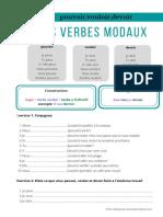 Les verbes modaux