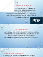 ESFUERZO DE TORSION