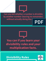 chapter2 divisibility rules