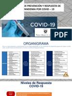 7@7PLAN DE PREVENCIÓN Nivel 2 COVID-19