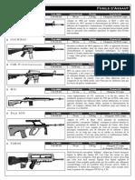 Fusils d'Assaut basic chaosium