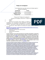 Protocolo del Trabajo de investigación