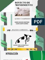 PROYECTO DE EMPRENDIMIENTO QUESO CAMPESINO