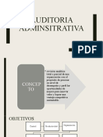 Auditoria Adminsitrativa_conceptos Básicos