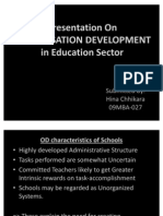 OD in education sector
