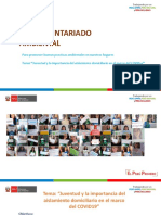 PPT Juventud y la importancia del aislamiento domiciliario en el marco del COVID19