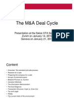 The M&A Deal Cycle