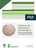 Caderno de Exercícios - Módulo 4.