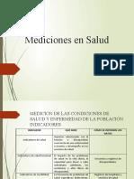 MEDICION DE LAS CONDICIONES DE SALUD