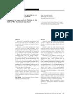Prevalência de nascimento de gemerales em Pelotas