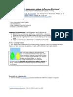 Ley de Coulomb Laboratorio virtual de Fuerzas Eléctricas