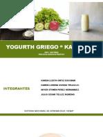 YOGURTH GRIEGO proceso administartivo