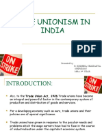 TRADE UNIONISM IN