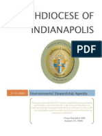 Environmental Stewardship Agenda - Archdiocese of Indianapolis