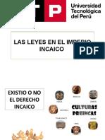 LAS LEYES EN EL IMPERIO INCAICO