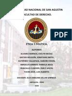 GRUPO 3 - ÉTICA Y POLÍTICA (1)