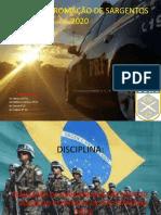 CURSO DE FROMAÇÃO DE SARGENTOS 2020
