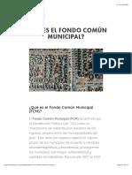 ¿Qué es el Fondo Común Municipal? — Puentes UC.pdf