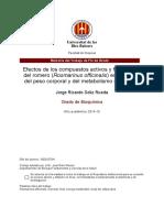 Activos funcionales del Romero