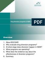 BOCSAR Drug Diversion Research