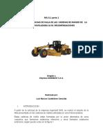 IML 8.1. Primera parte. Falla en  Cadenas de rodillos de Moniveladora.docx
