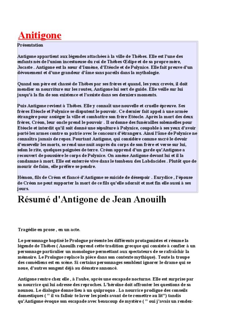 Charming Resume D Antigone Contemporary - Example Resume Templates ...