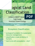 2011 Lecture 3b Ecological Land Classification