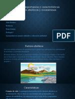 Definicion importancia y caracteristicas de factores abioticos y ecosistemas - copia