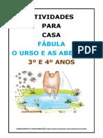 ATIVIDADES PARA CASA FÁBULA O URSO E AS ABELHAS 3º E 4º ANOS.docx