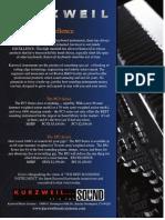 Keyboard Magazine 2008-07 Kurzweil PC3 (Ad pg 59)
