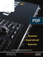 Keyboard Magazine 2008-09 Kurzweil PC3 (Ad pg 37)