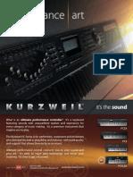Keyboard Magazine 2010-02 Kurzweil PC3-Series (Ad pg 75)