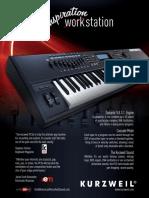 Keyboard Magazine 2010-07 Kurzweil PC3x (Ad pg 23)