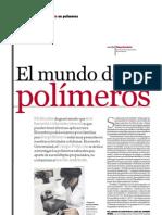 El mundo de los polímeros, PuntoEdu. 05/06/2006