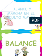 BALANCE Y MARCHA EN EL ADULTO MAYOR