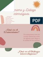 Ecumenismos y Diálogo interreligioso