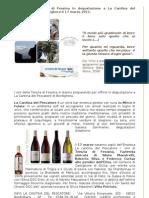 I Vini Della Tenuta Di Fessina in Degustazione a La Cantina Del Pescatore Di Bordighera Il 17 Marzo 2011