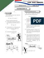 sep 23 Factorización II
