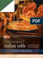 Barilla Celebrities Cookbook