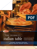 Barilla Celebrities Cookbook